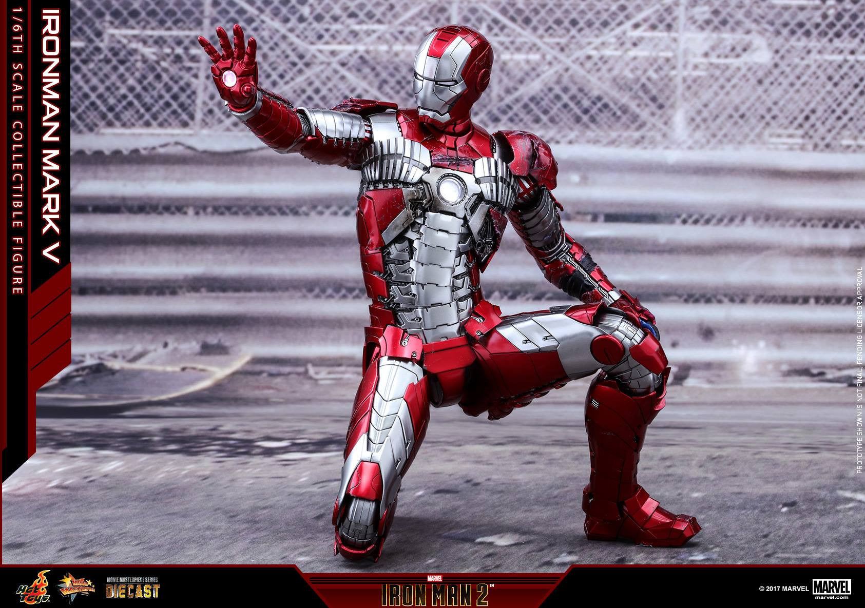 Hot Toys - MMS400D18 - Iron Man 2 - Mark V (DIECAST) - Marvelous Toys - 21