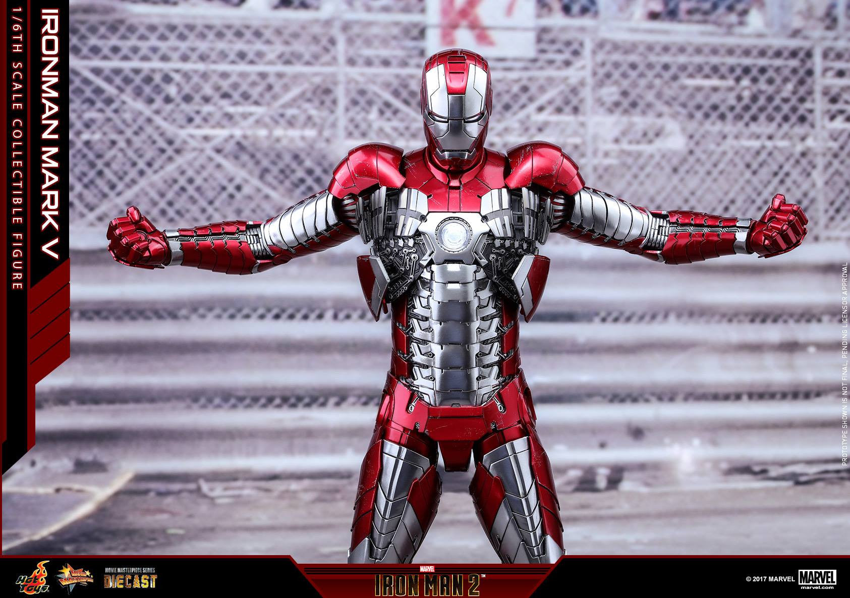 Hot Toys - MMS400D18 - Iron Man 2 - Mark V (DIECAST) - Marvelous Toys - 22