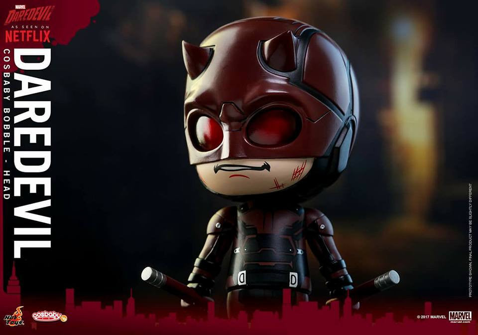 Hot Toys - COSB348 - Marvel's Daredevil - Daredevil Cosbaby Bobble-Head - Marvelous Toys - 3