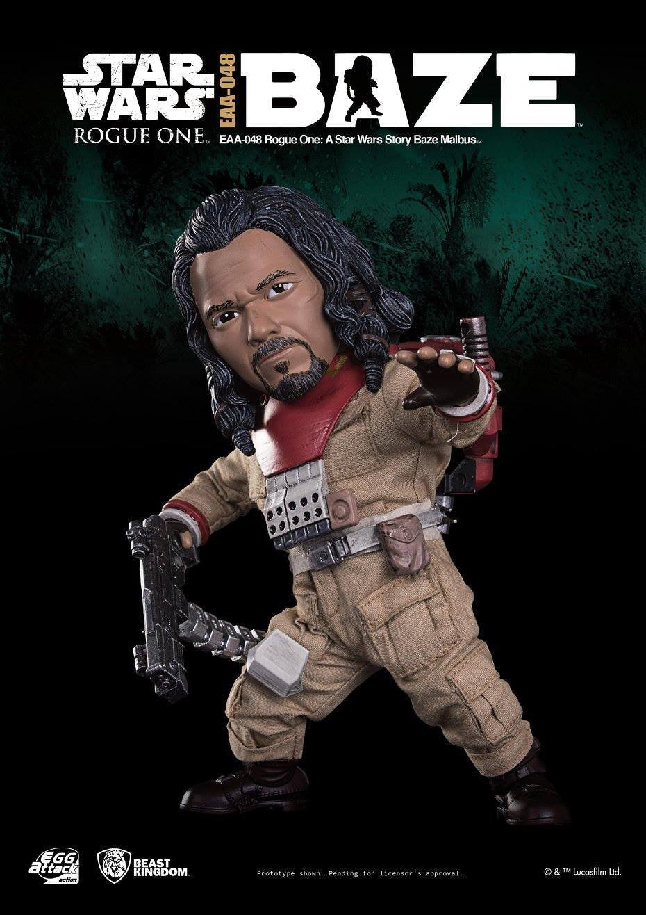 Egg Attack Action - EAA-048 - Rogue One: A Star Wars Story - Baze Malbus - Marvelous Toys - 2