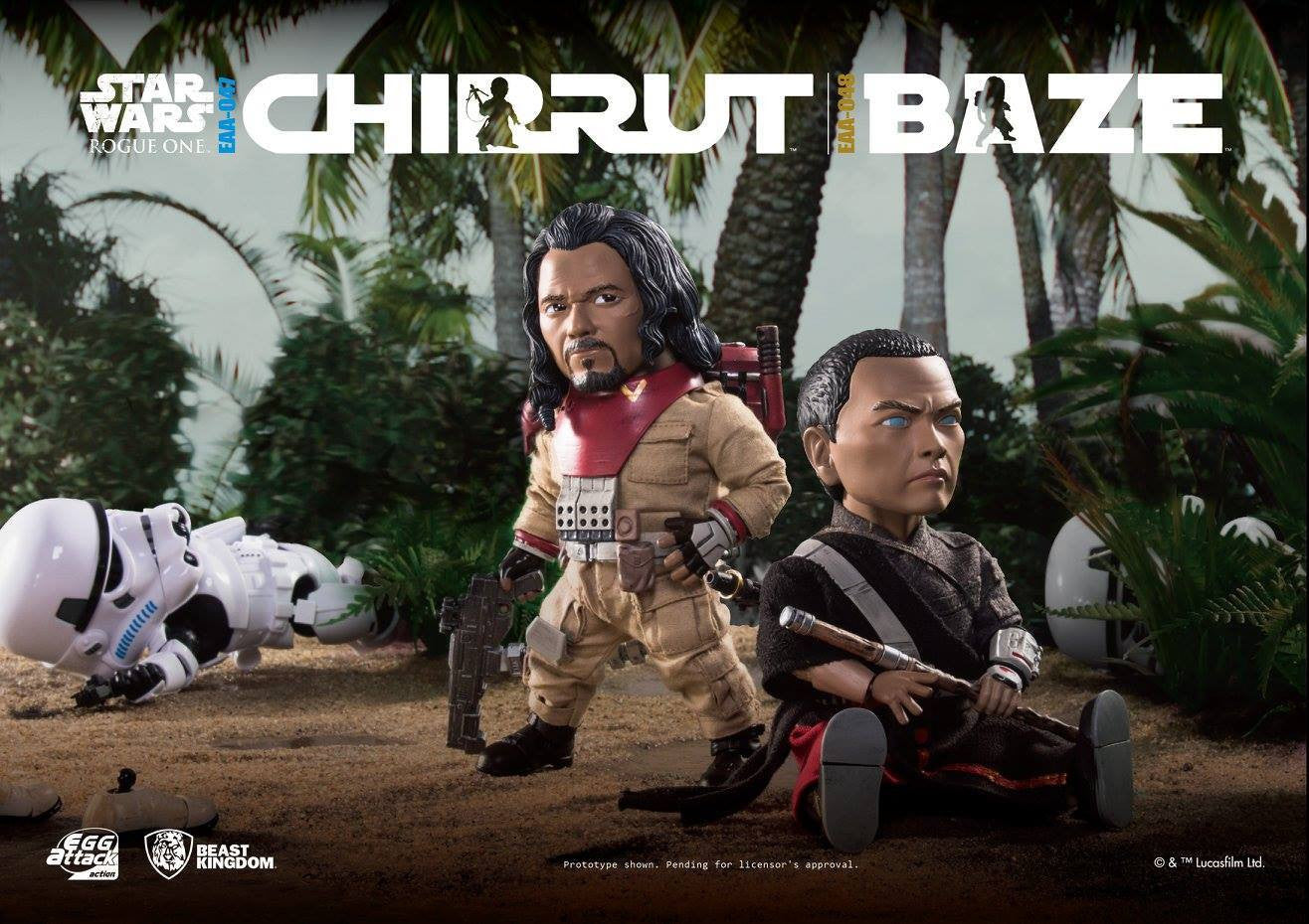 Egg Attack Action - EAA-047 - Rogue One: A Star Wars Story - Chirrut Imwe - Marvelous Toys - 5
