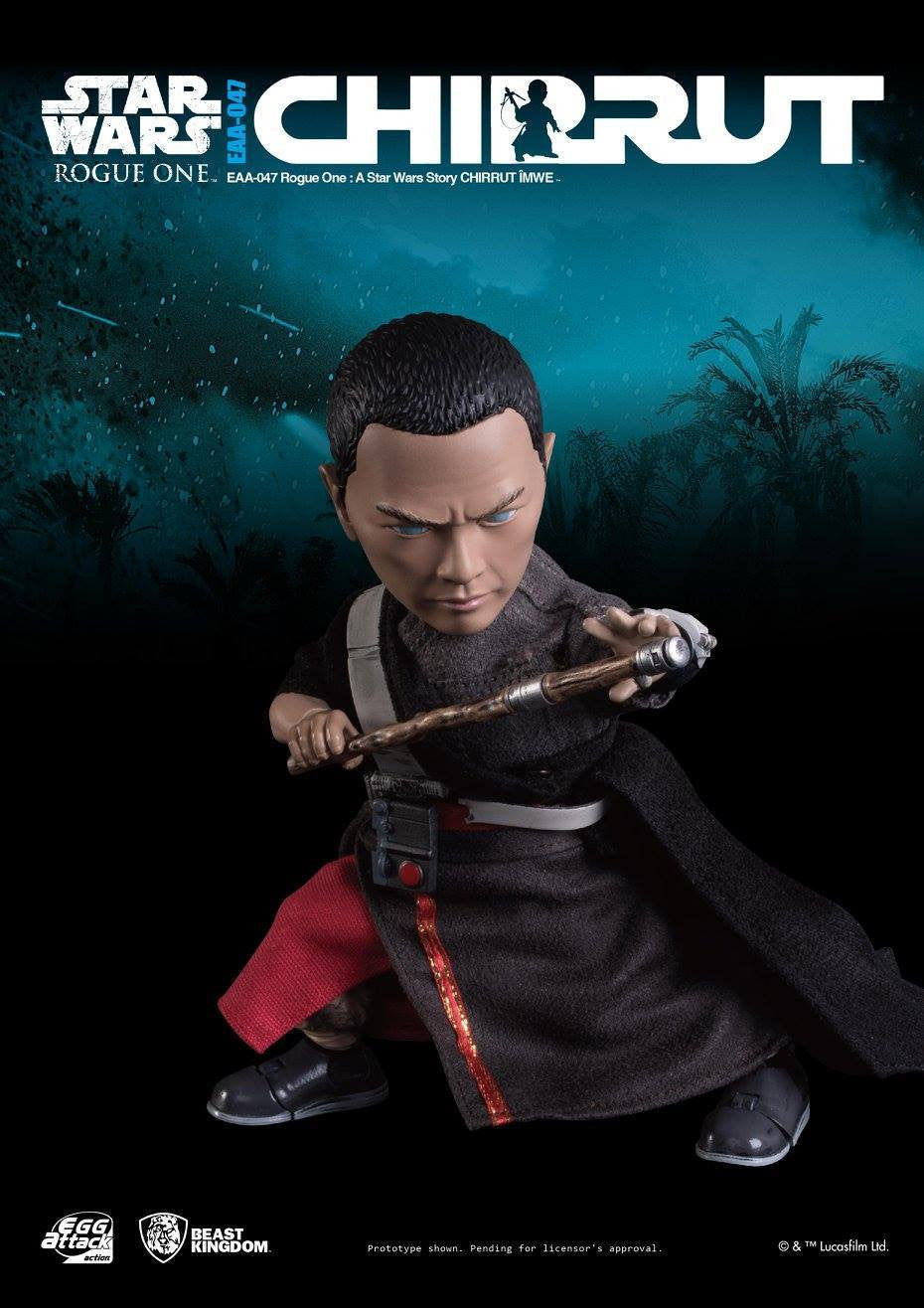 Egg Attack Action - EAA-047 - Rogue One: A Star Wars Story - Chirrut Imwe - Marvelous Toys - 1
