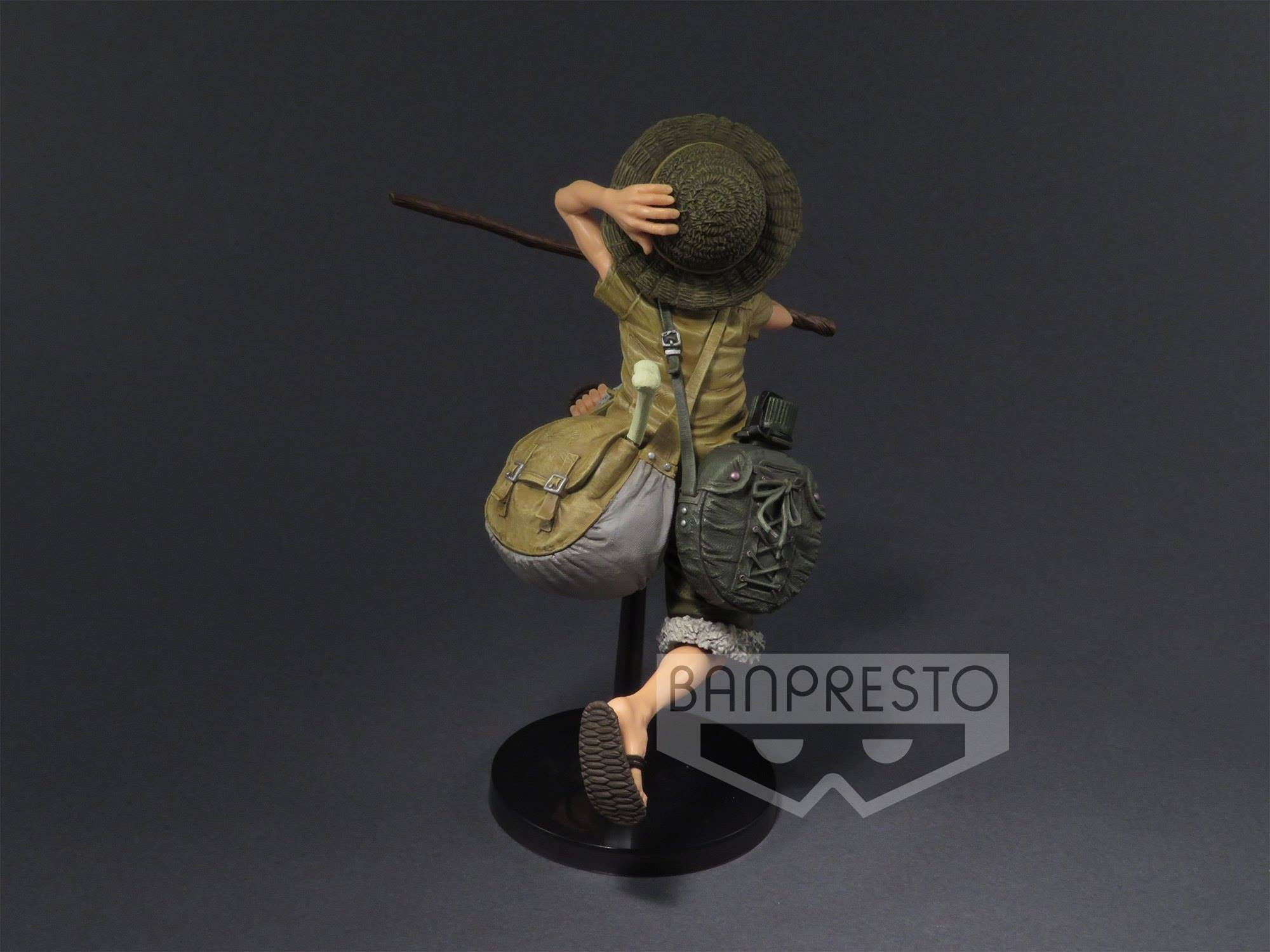 Banpresto - Prize Item 35381 - One Piece Sculptures - Luffy (Army Color Ver.)