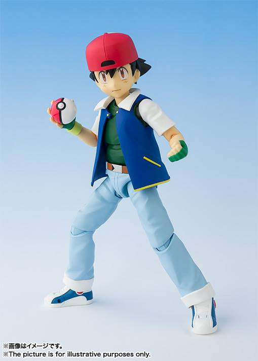 S.H.Figuarts - Pokemon - Ash Ketchum with Pikachu