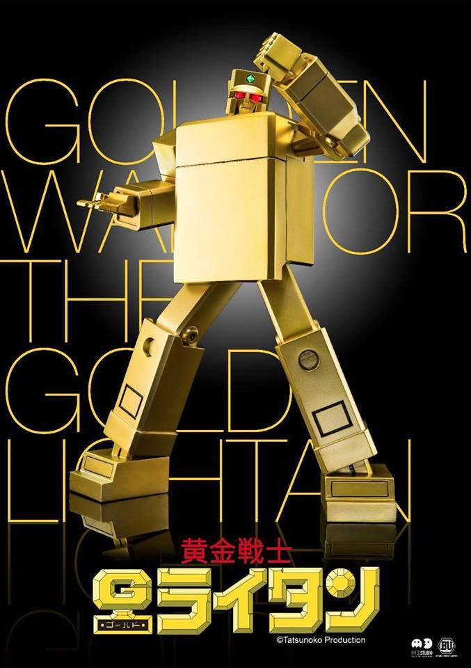 M3 Studio - ETHF 02 - Golden Warrior Gold Lightan