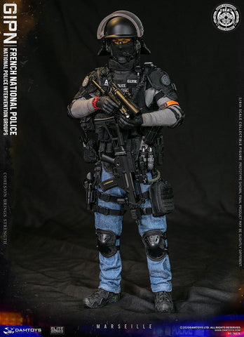 Damtoys - Elite Series - French National Police Intervention Groups GIPN (Marseille)