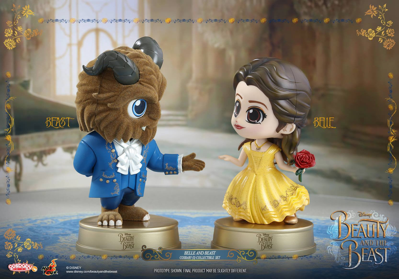 Hot Toys - COSB352 - Beauty and the Beast - Belle and Beast Cosbaby Set