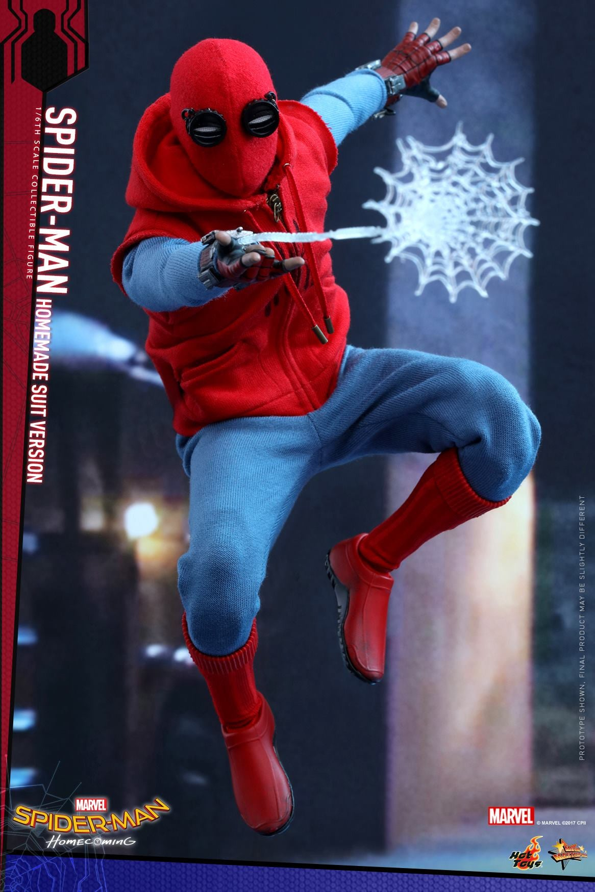 Hot Toys - MMS414 - Spider-Man: Homecoming - Spider-Man (Homemade Suit Version)