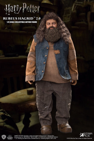 Star Ace Toys - Harry Potter and the Sorcerer's Stone - Rubeus Hagrid 2.0 (Christmas Ver.) (1/6 Scale)