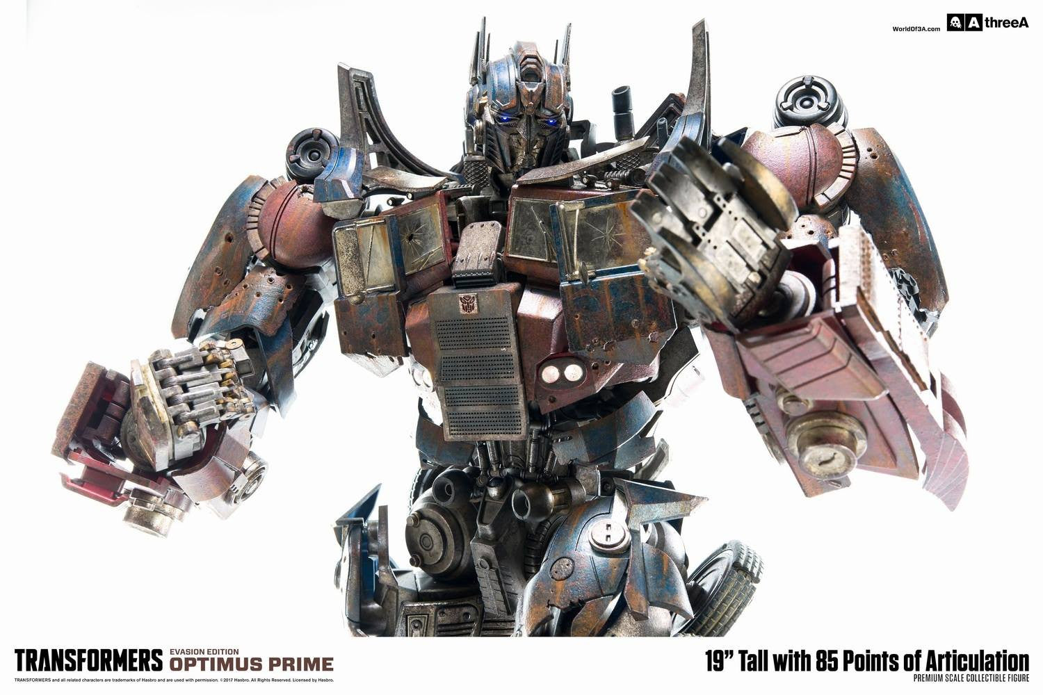 ThreeA - Transformers: Age of Extinction - Optimus Prime Evasion Edition Premium Scale
