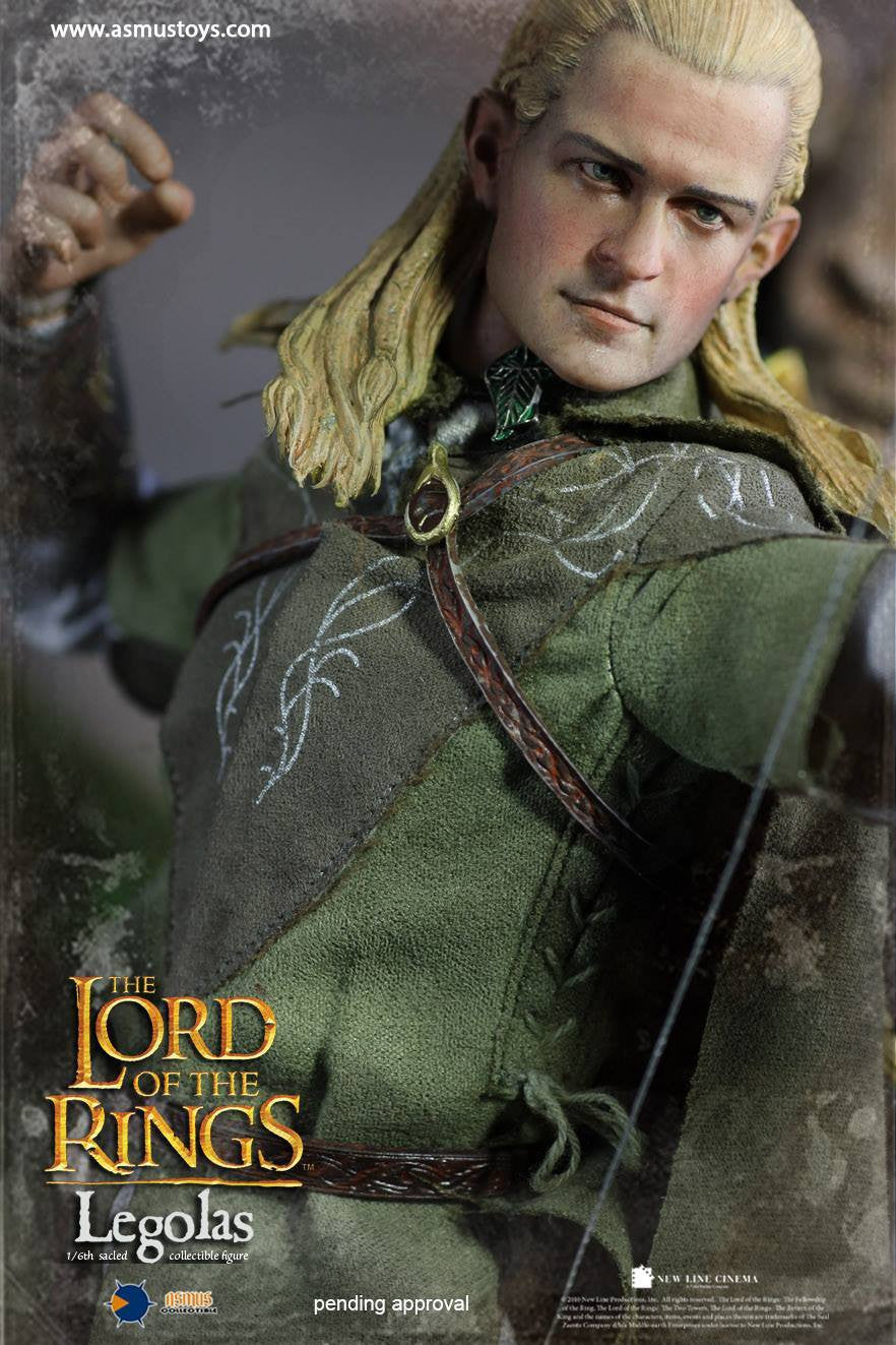 Asmus Toys - LOTR010LUX - Lord of The Rings - Heroes of Middle-Earth - Legolas (Luxury Edition)