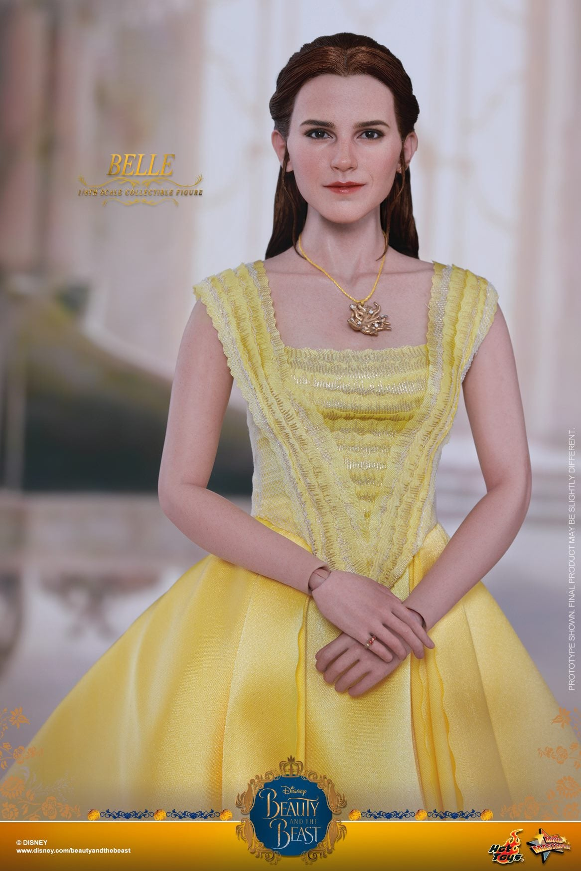 Hot Toys - MMS422 - Beauty and the Beast - Belle (with Lumière, Cogsworth, Mrs. Potts, Chip, and Plumette)