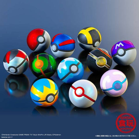 Bandai Online Exclusive - Shokugan - Pokemon Poke Ball Special Collection (Premium Bandai Limited)