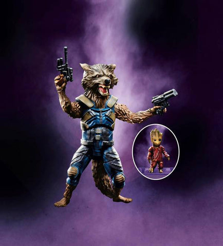 Hasbro - Marvel Legends Infinite Series - Guardians of the Galaxy 2017 Series 2 - Rocket Raccoon & Groot