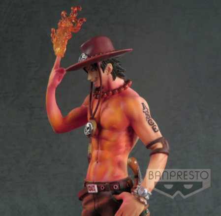 Banpresto - Prize Item 35392 - One Piece Sculptures - Portgas D. Ace -Burning Color Ver.-