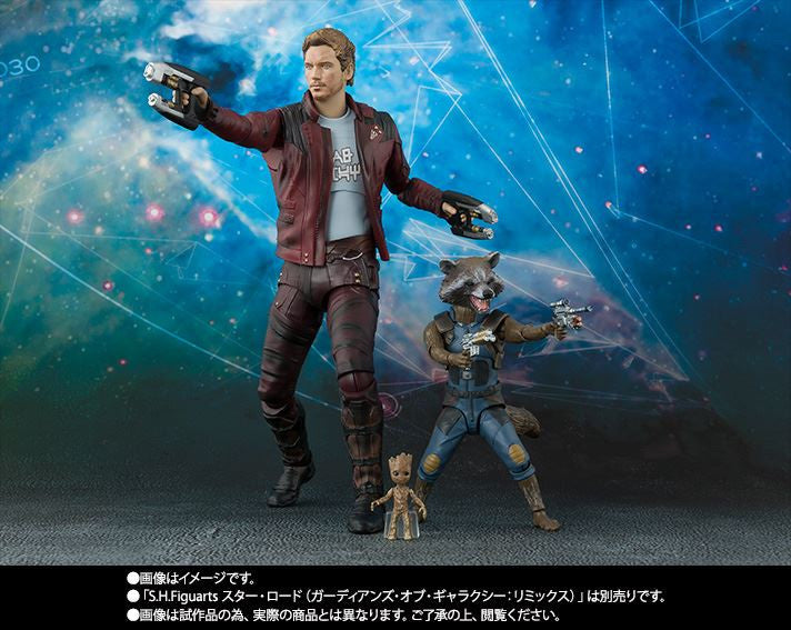 S.H.Figuarts - Guardians of the Galaxy Vol. 2 - Rocket Raccoon & Baby Groot (TamashiiWeb Exclusive)