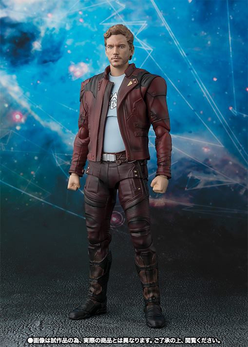 S.H.Figuarts - Guardians of the Galaxy Vol. 2 - Star-Lord & Explosion Set (TamashiiWeb Exclusive)