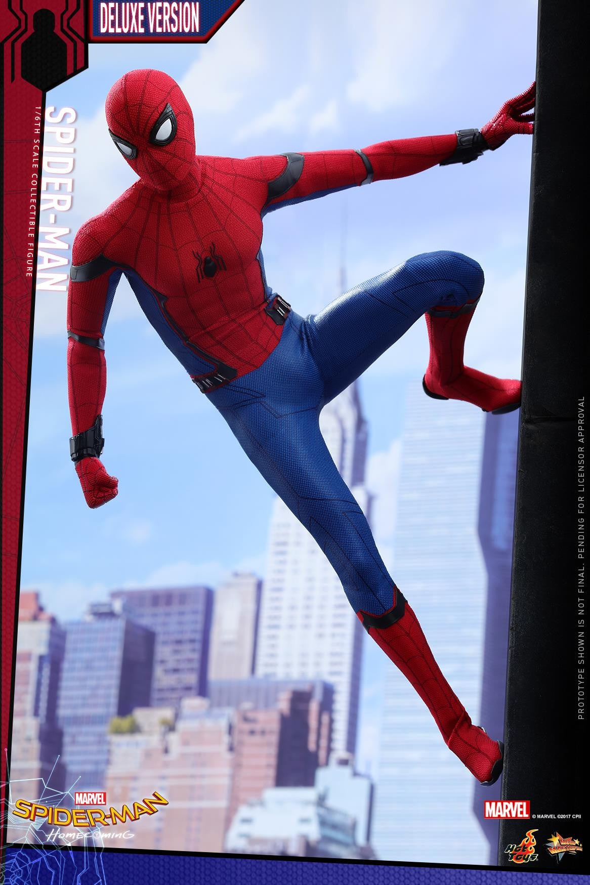 Hot Toys - MMS426 - Spider-Man: Homecoming - Spider-Man (Deluxe Version)