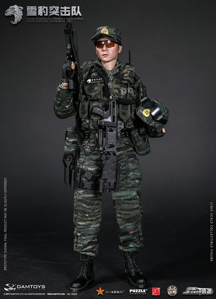Damtoys - Elite Series - Chinese People's Armed Police Force - Snow Leopard Commando Unit Team Member