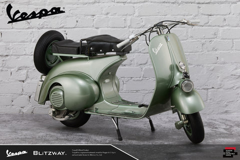 Blitzway - Superb Scale Statue (Hybrid) - Roman Holiday - 1951 Vespa 125 (1/4 Scale)