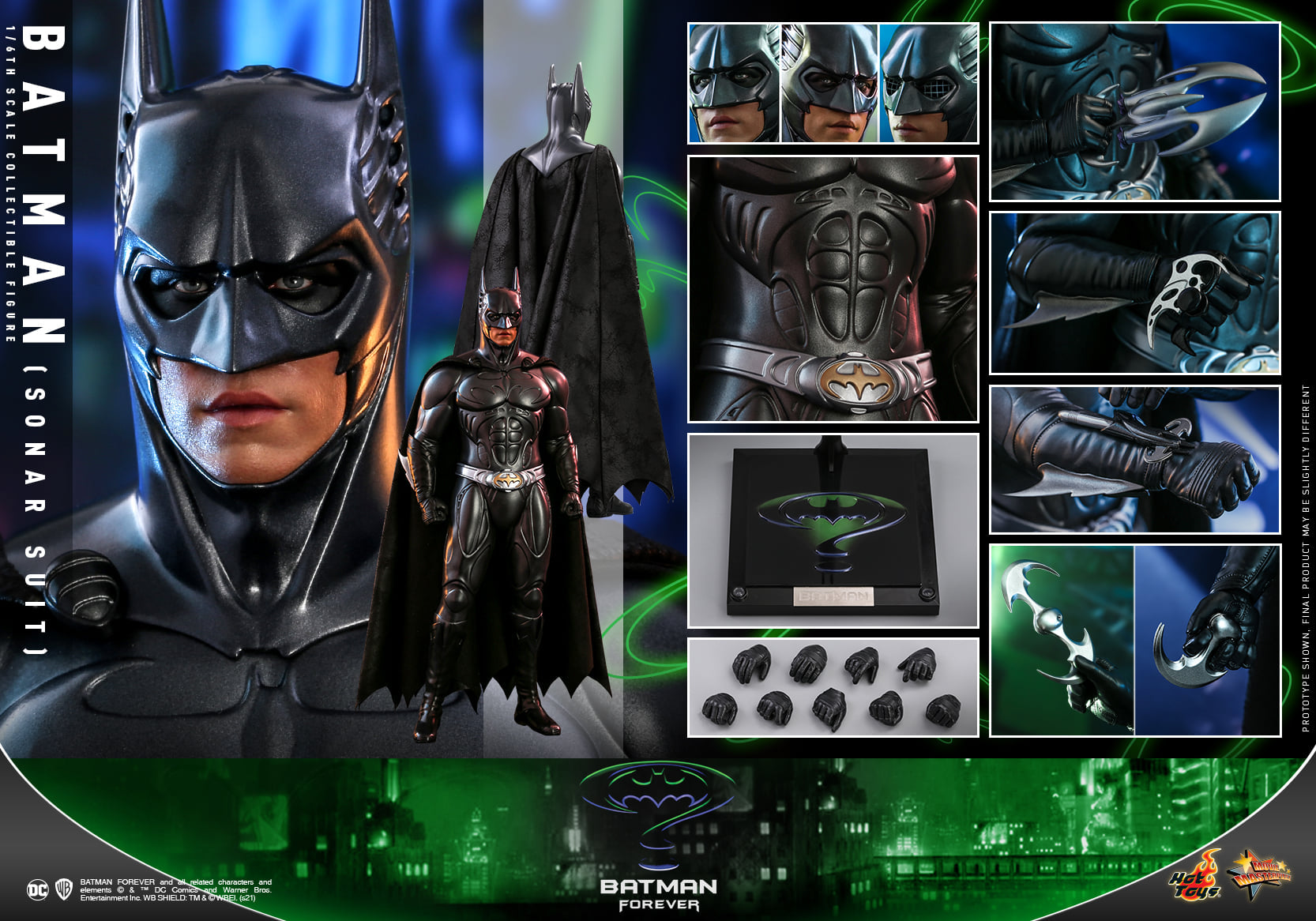 Hot Toys - MMS593 - Batman Forever - Batman (Sonar Suit)