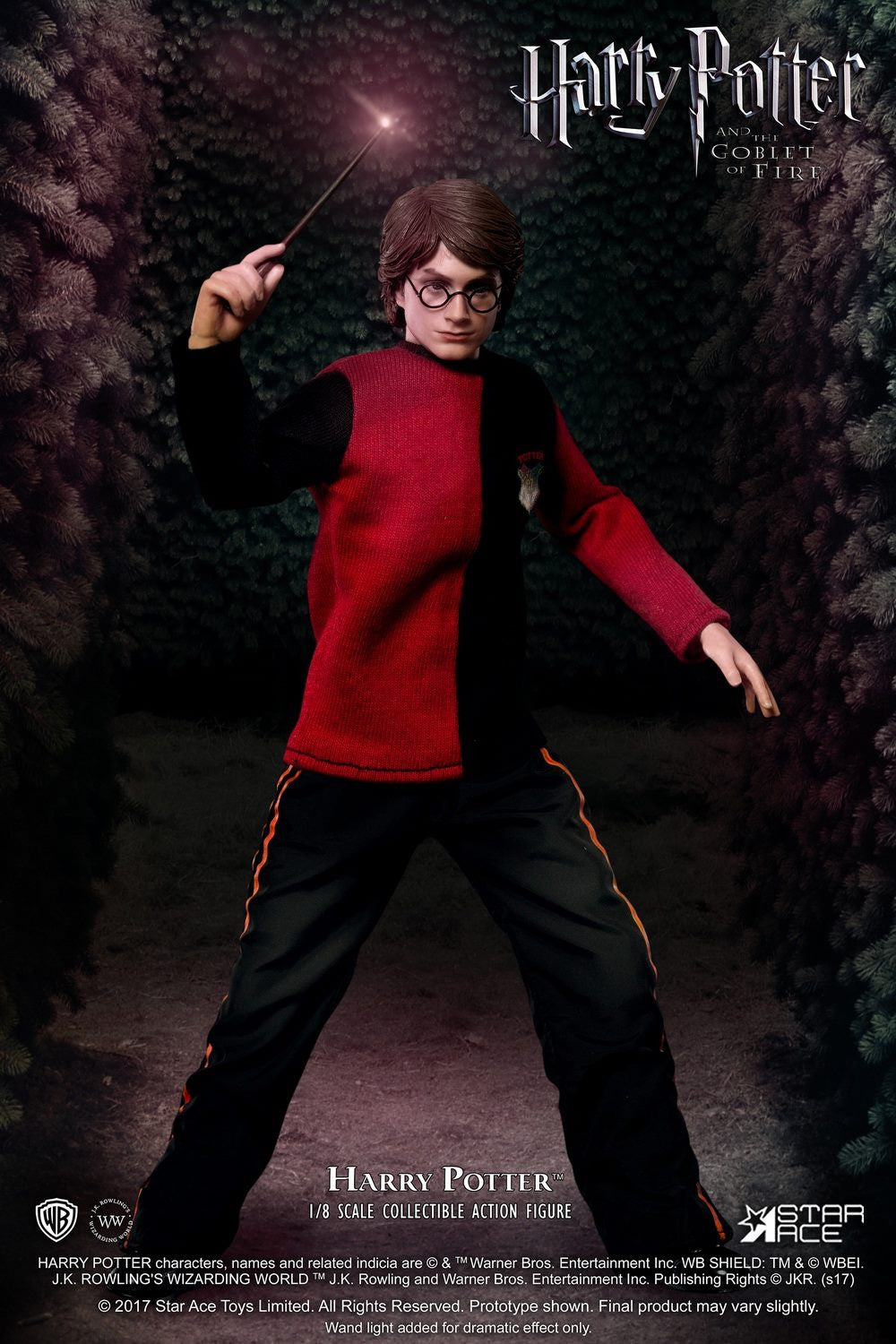 Star Ace Toys - SA8001D - Harry Potter and the Goblet of Fire - Harry Potter (Triwizard Tournament Last Game Version)