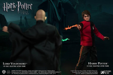 Star Ace Toys - SA8001C - Harry Potter and the Goblet of Fire - Harry Potter with Light Up Wand (Triwizard Tournament Last Game Version)