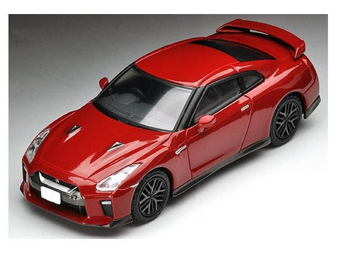 Tomica - Limited Vintage NEO 1:64 Scale - LV-N148D - Nissan GT-R 2017 Model (Red)