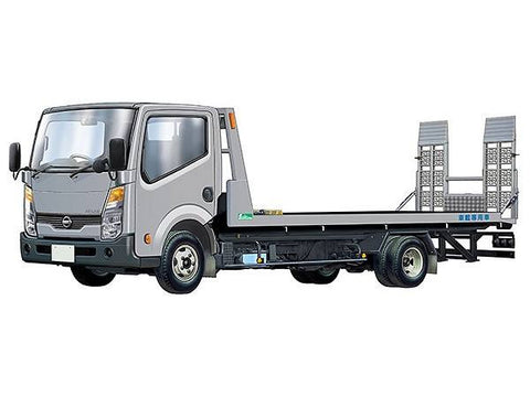 Tomica - Limited Vintage NEO 1:64 Scale - LV-N144b - Nissan Atlas (F24) Hanamidai Jidousha Safety Loader (Silver)