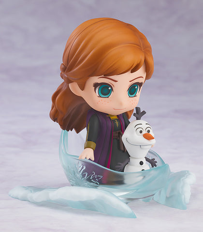 Nendoroid - 1442 - Frozen 2 - Anna (Travel Costume Ver.) with Olaf