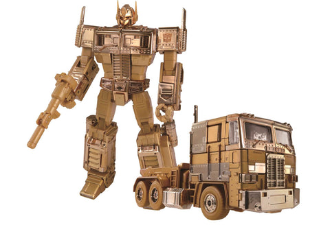 TakaraTomy - Transformers 35th Anniversary - Golden Lagoon Optimus Prime (Convoy) (Cybertron Satellite Shop Exclusive)