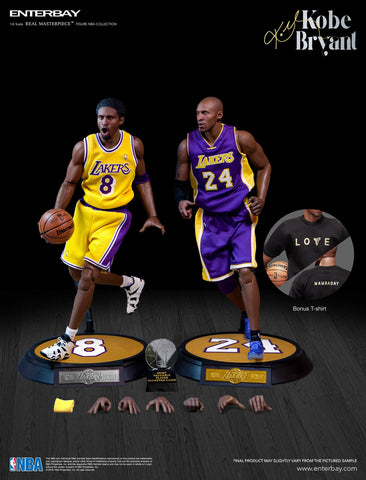 Enterbay - Real Masterpiece - NBA Collection - Kobe Bryant (New Upgraded Re-Edition) (1/6 Scale)