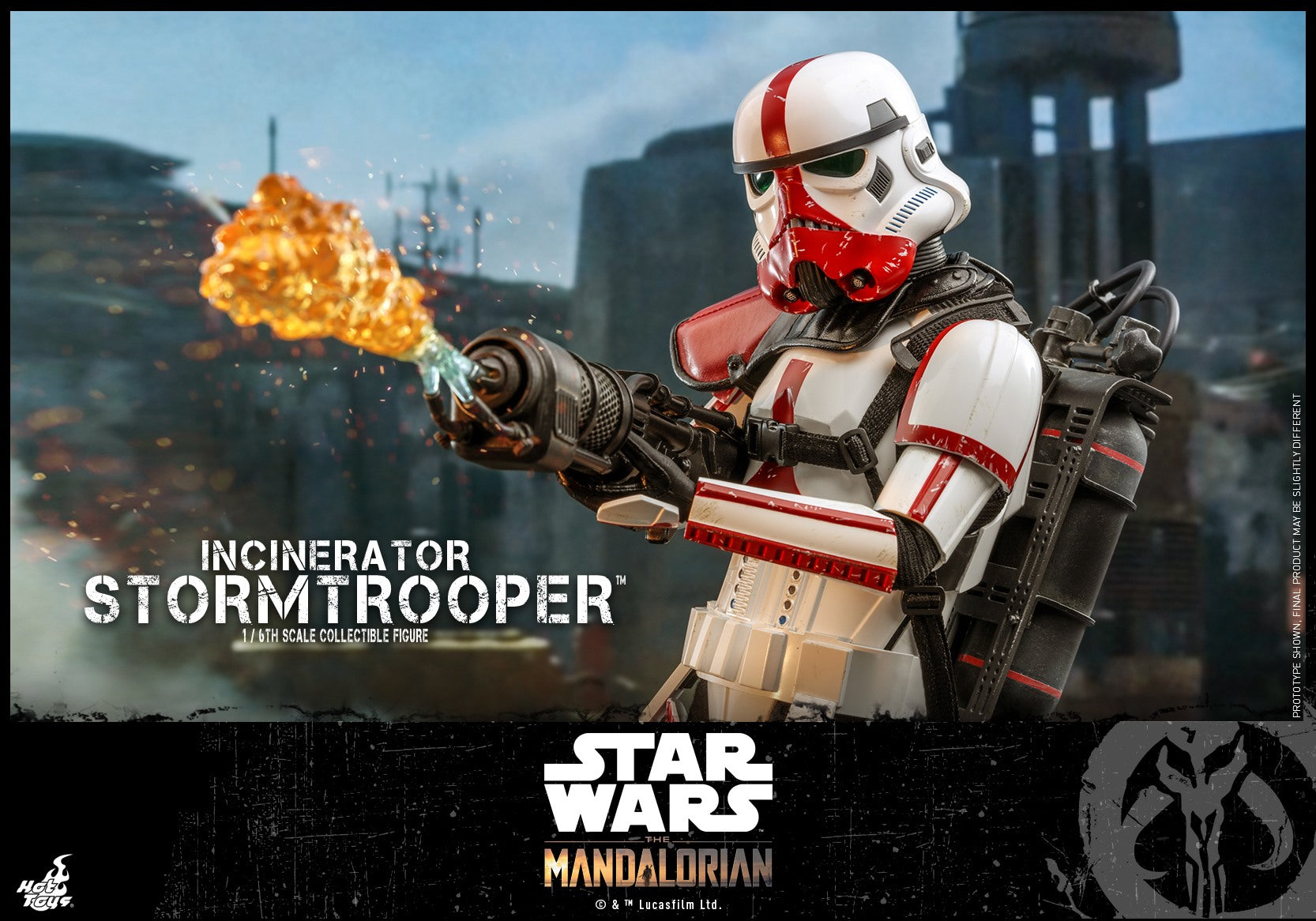 Hot Toys - TMS012 - Star Wars: The Mandalorian - Incinerator Stormtrooper