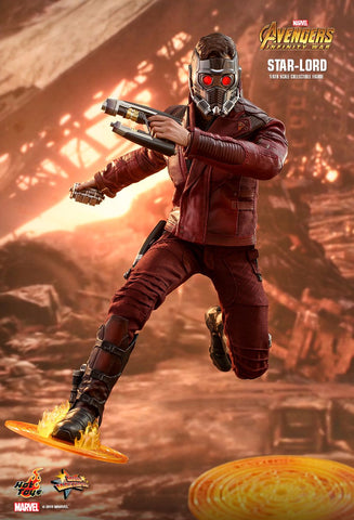 (IN STOCK) Hot Toys - MMS539 - Avengers: Infinity War - Star-Lord (Peter Quill)