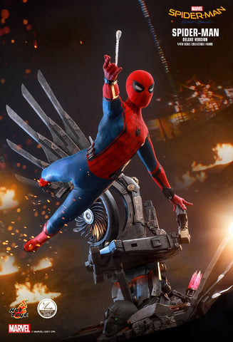 Hot Toys - QS015 - Spider-Man: Homecoming - Spider-Man (1/4 Scale) (Deluxe Version)