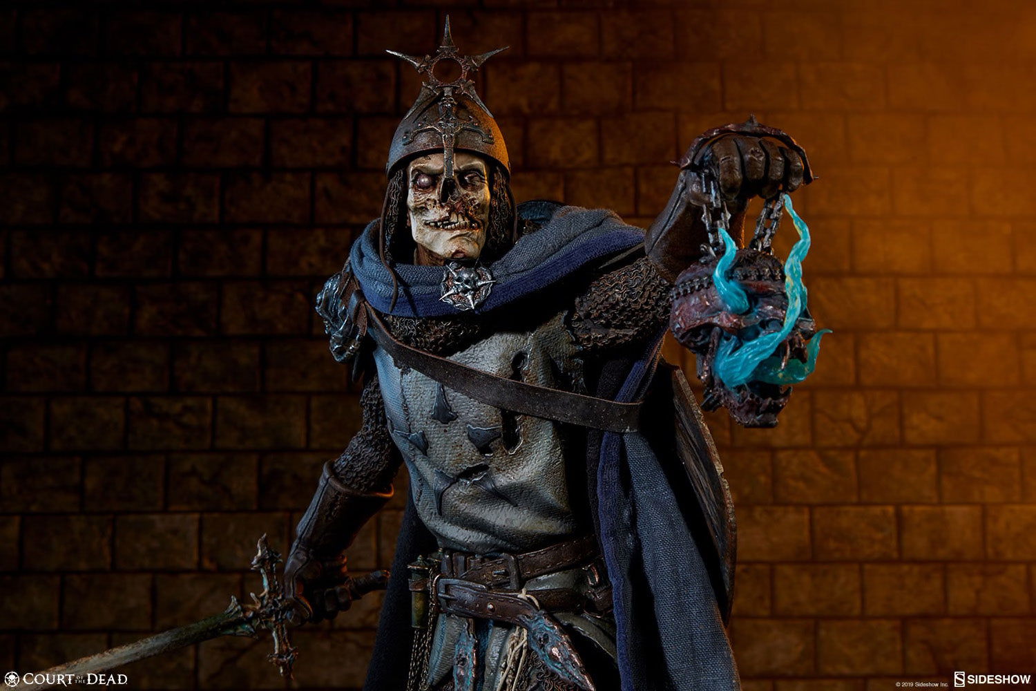 Sideshow Collectibles - Premium Format Figure - Court of the Dead - Relic Ravlatch: Paladin of the Dead
