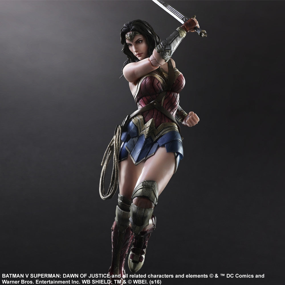 (IN STOCK) Play Arts Kai - Batman v Superman: Dawn of Justice - Wonder Woman - Marvelous Toys - 2