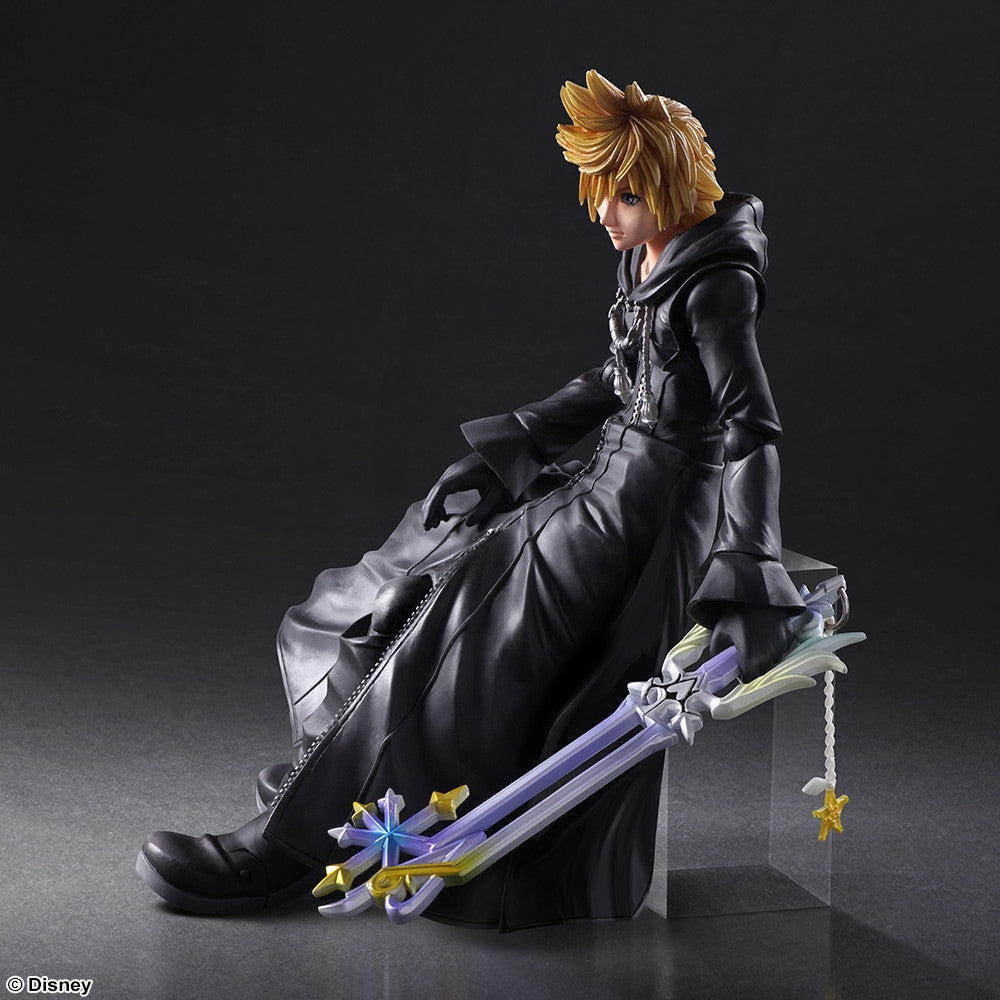 Play Arts Kai - Kingdom Hearts II - Roxas - Organization XIII Ver. - Marvelous Toys - 2