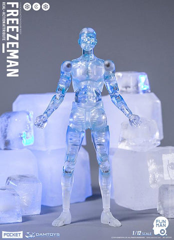 Damtoys - Pocket Elite Series - DPS05 - Real-Action Attribute - Freezeman (1/12 Scale)