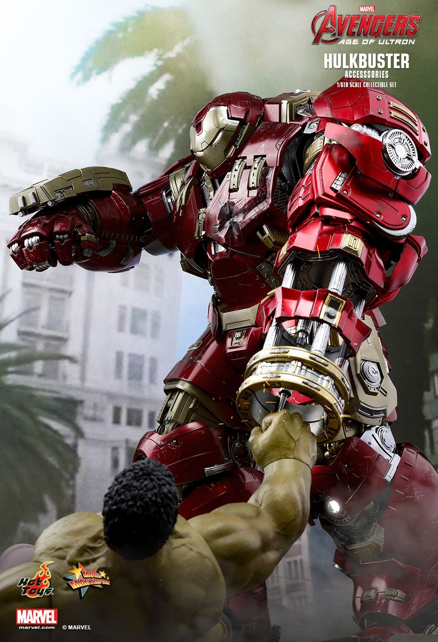 Hot Toys - ACS006 - The Avengers: Age of Ultron - Hulkbuster Accessory Set