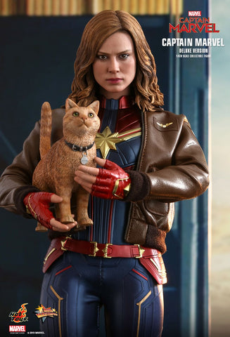 (IN STOCK!) Hot Toys - MMS522 - Captain Marvel - Captain Marvel (Deluxe Version)
