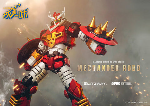 Blitzway x 5PRO Studio - Mechander Robo - Tri-Attack! Mechander Robo