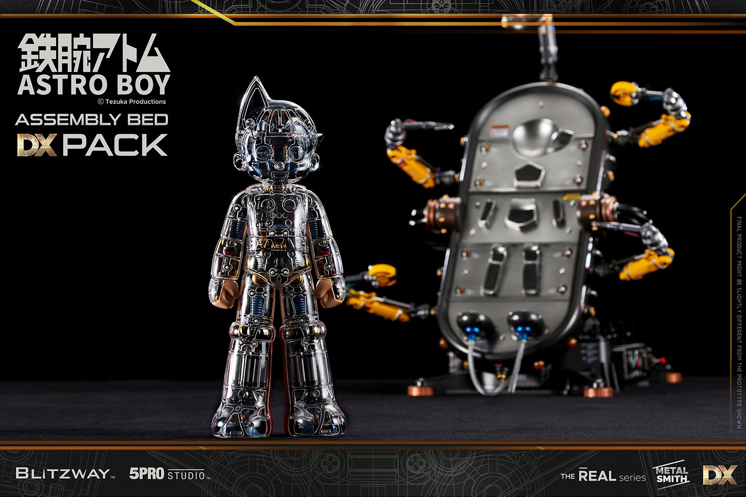 5Pro Studio - The Real Series - Astro Boy (Clear Ver. with Assembly Bed DX Pack)