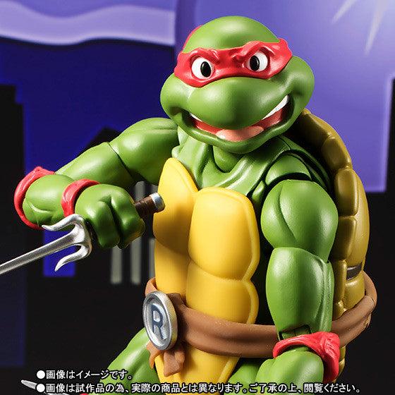 (IN STOCK) S.H.Figuarts - Teenage Mutant Ninja Turtles - Raphael (Tamashii Web Exclusive) - Marvelous Toys - 2
