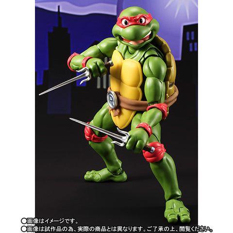 (IN STOCK) S.H.Figuarts - Teenage Mutant Ninja Turtles - Raphael (Tamashii Web Exclusive) - Marvelous Toys - 1