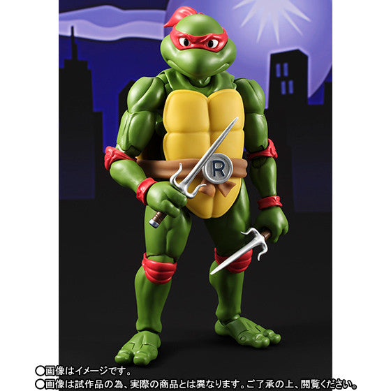 (IN STOCK) S.H.Figuarts - Teenage Mutant Ninja Turtles - Raphael (Tamashii Web Exclusive) - Marvelous Toys - 3