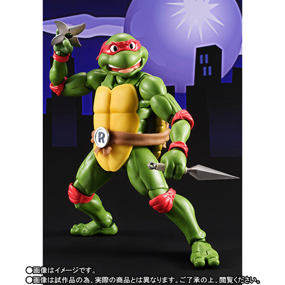 (IN STOCK) S.H.Figuarts - Teenage Mutant Ninja Turtles - Raphael (Tamashii Web Exclusive) - Marvelous Toys - 4