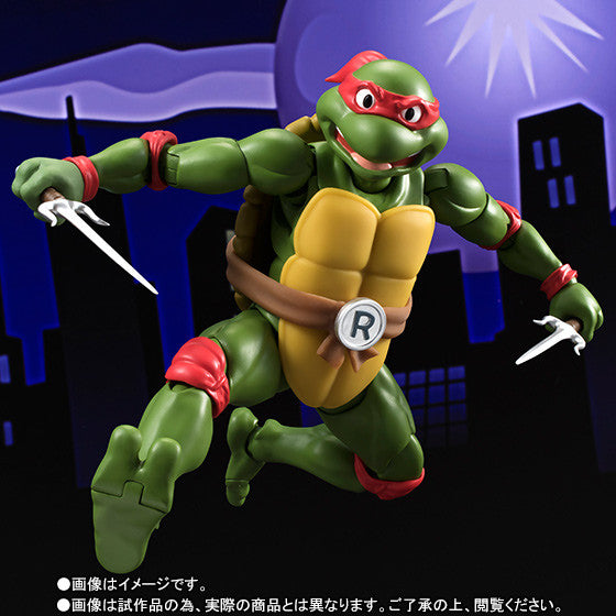 (IN STOCK) S.H.Figuarts - Teenage Mutant Ninja Turtles - Raphael (Tamashii Web Exclusive) - Marvelous Toys - 5