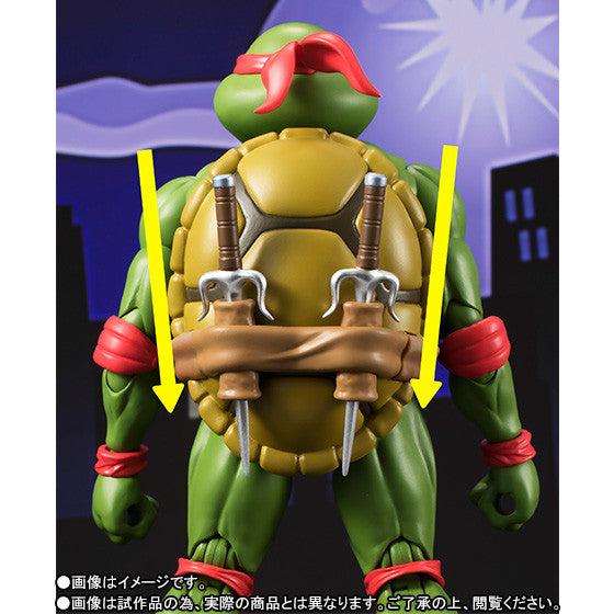 (IN STOCK) S.H.Figuarts - Teenage Mutant Ninja Turtles - Raphael (Tamashii Web Exclusive) - Marvelous Toys - 6