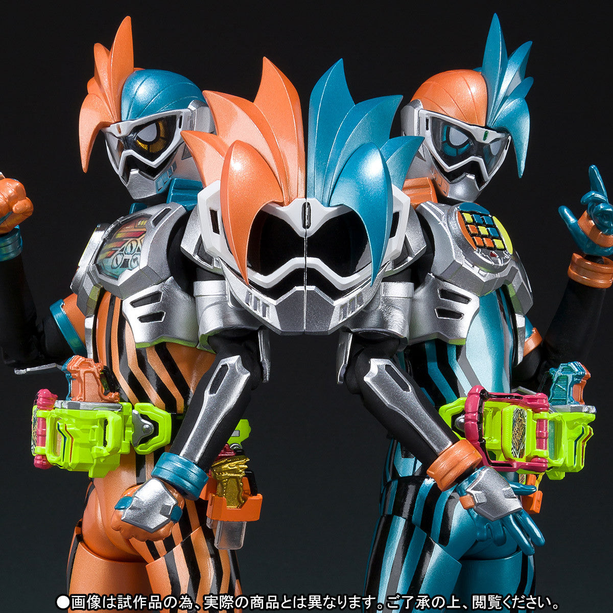 S.H.Figuarts - Kamen Masked Rider - Ex-Aid Double Action Gamer Level XX LRSet (TamashiiWeb Exclusive)